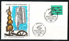 Germany 1971 FDC cover Mi 664 Sc 1054 Synthetic textile fiber research Molecule