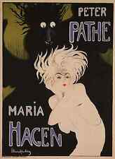 MARIA, 1918 Vintage Theater Advertising Premium CANVAS PRINT 24x32 in.
