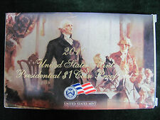 2010 U.S. Mint Presidential $1 Coin Proof Set