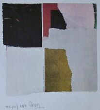 "Arturo Rogerio Luz "" abstract II""HAND SIGNED NUMBERED LITHOGRAPH FILIPINO ARTIST"