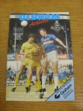 17/05/1987 Play-Off Semi-final: Oldham Athletic V división 2 Leeds United & 30/1