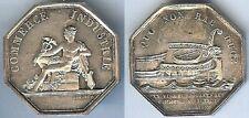 Jeton de présence - Bordeaux chambre commerce jeton octogonal argent 15 gr d=34m