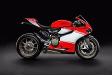 Red White ABS Fairing Bodywork Injection For 2012-2014 Ducati 1199 Panigale