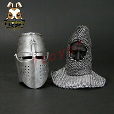 ACI Toys 1/6 ACI-24C Templar Knight Banner Holder_ Helmet + faked head _AT081J