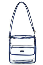 Transparent Stylish Purse Clear Handbag Tote Shoulder Crossbody Bag Fashion NFL