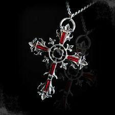Necklace Collier Arcana XIII Sancta Cross Croix Medieval Celtic Gothic Gothique
