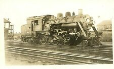 5B095 RP 1932 BOSTON & ALBANY RAILROAD ENGINE #302 AT BOSTON MA