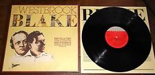THE MIKE WESTBROOK BLAKE ~ BRIGHT AS FIRE ~ UK ORIGINAL JAZZ LP 1980 WITH INNER
