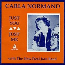 Just You, Just Me by Carla Normand (CD, Nov-1992, Audiophile Records)