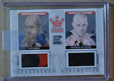 2012 Sportkings E Dual relic Tito Ortiz & Georges St-Pierre National