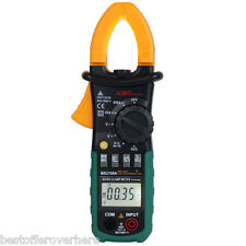 MS2108A Digital Clamp Multimeter Auto Range DC/AC Volt AC Current ResistanceTest