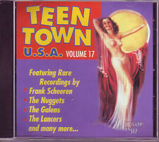 TEEN TOWN USA - Volume 17 - 50's & 60's Teen Songs CD