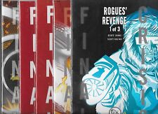 FINAL CRISIS ROGUES REVENGE #1-#3 SET WITH VARIANT COVERS (NM-) GEOFF JOHNS