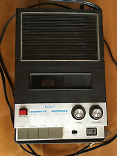 VINTAGE 1970's SEARS SOLID STATE CASSETTE PLAYER RECORDER Model No. 564.34202200