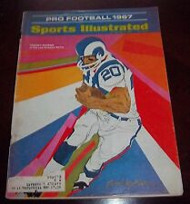 Sports Illustrated  September 18 1967 Pro Football Preview / Tommy Mason Rams
