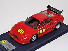 1/18 Looksmart MR Ferrari 288 GTO Evoluzione Enzo Ferrari Museum blue leather