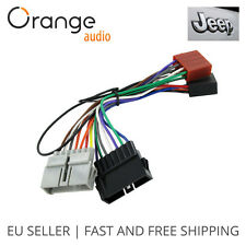 Wiring Lead Harness Adapter for Jeep from 1984  to 2001 ISO stereo plug adaptor