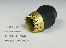 Dream Model 2034 1/48 F-35B Exhaust Nozzles Etching Parts for Kitty Hawk