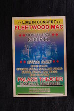 Fleetwood Mac 1970 Tour Poster Nashville Palace Theater