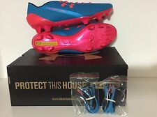 NEW UA UNDER ARMOUR SPEEDFORM CRM FG 1256743-419 SOCCER CLEAT Size 9 MSRP $220