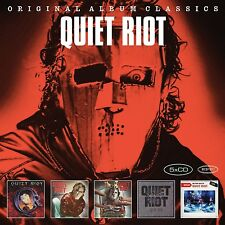 QUIET RIOT - ORIGINAL ALBUM CLASSICS 5 CD NEU