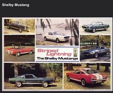 Shelby Mustang History. The Best One Done! Car Poster!Own It! XMAS DEAL