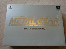 Playstation METAL GEAR SOLID LIMITED EDITION PREMIUM PACK c1999 PS 1
