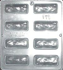 "Coconut Bar 1 1/8"" x 3"" Chocolate Candy Mold Candy Making  112 NEW"
