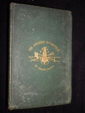 The Angler's Instructor by William Bailey 1857 1st Fishing Rivers Lakes & Ponds