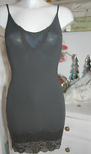 By timo ti Mo porteur-robe Dress tunique vintage dentelle anthracite size: xs NEUF
