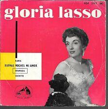 EP 4 TITRES--GLORIA LASSO CHANTE EN ESPAGNOL--BAHIA / GRANADA