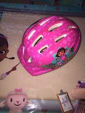 Pre-Owned Dora the Explorer Bike Safety Helmet for Youth Girl