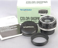 @Boxed@ Voigtlander Color-Skopar 35mm f2.5 MC for Leica LTM from JAPAN #012768