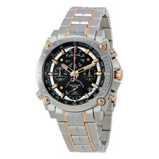 Bulova Precisionist Chronograph Black Dial Mens Watch 98G256