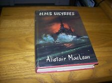 HMS Ulysses by Alistair MacLean Signed 1st Edition Hardback Rare