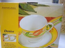 NEW  KAFFEE SERVICE COFFEE CUPS, SAUCERS, PLATES  18 PC SET RITZENHOFF & BREKER