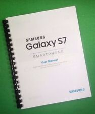 COLOR PRINTED Samsung Galaxy Phone S7 G930 Manual, User Guide 120 Pages