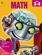 Brighter Child Book of Math, Grades 3-4 (Complete Book of)