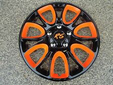 "4 Alu-Design Radkappen  ""Hero RS 5 orange"" Modell 2015 in 14 Zoll"