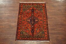 3X5 Antique Sarab Persian Birds Hand-Knotted Wool Area Rug Carpet (2.11 x 4.6)