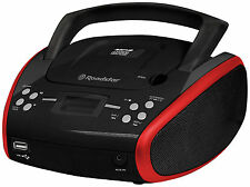 Roadstar CDR-4552U/rd Boombox with CD/MP3/USB and AUX