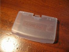 Clean White Replacement Battery Cover For Gameboy Advance GBA Cover - Brand New