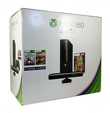 Xbox 360 4GB w / Kinect  +3 Games Holiday Bundle Console