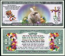Happy Easter Jelly Bean Prayer Million Dollar Collectible Novelty Note