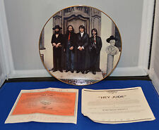 """The Beatles Collectors Plate - Delphi - Bradford Exchange """"Hey Jude"""" 1993"""