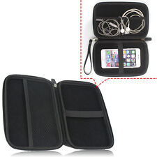 Hot Black GPS Carry Hard Outer Case Cover Shell Bag Protector for 7 Inch Device