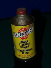 STEER-SEAL & CONDITIONER FLUID METAL CONE CAN