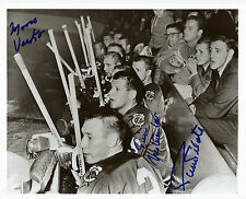 MOOSE VASKO, PIERRE PILOTE, ERIC NESTERENKO signed Chicago Blackhawks photo