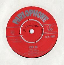 "Adam Faith - Poor Me / The Reason 7"" Single 1960"