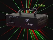XDJ 2W 2.5W RGB Full Color Laser light Analog Disco Laser  ILDA Animation Laser